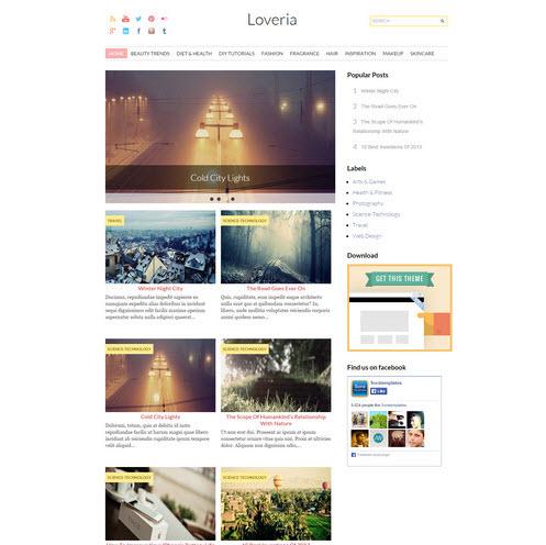 Loveria Fashion Blog Theme
