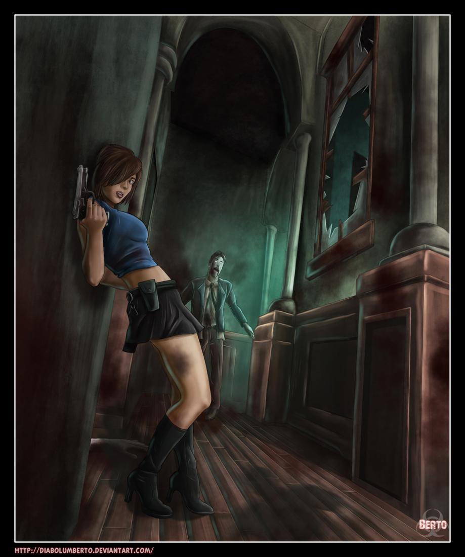 Jill Valentine - Wallpaper