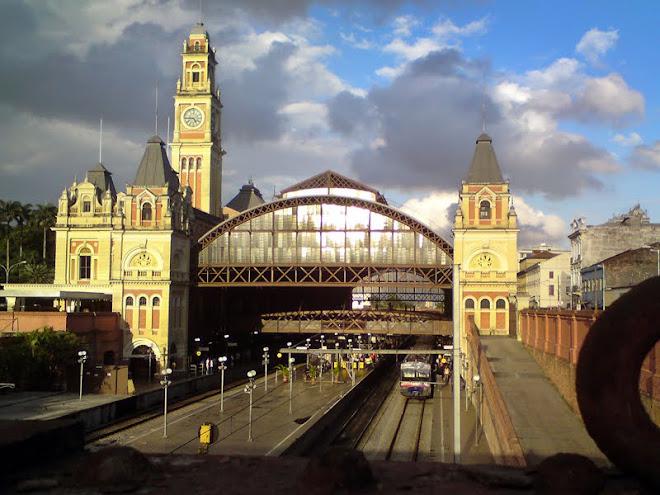 Inaugurada em 1867, é linda a Estação da Luz em São Paulo.