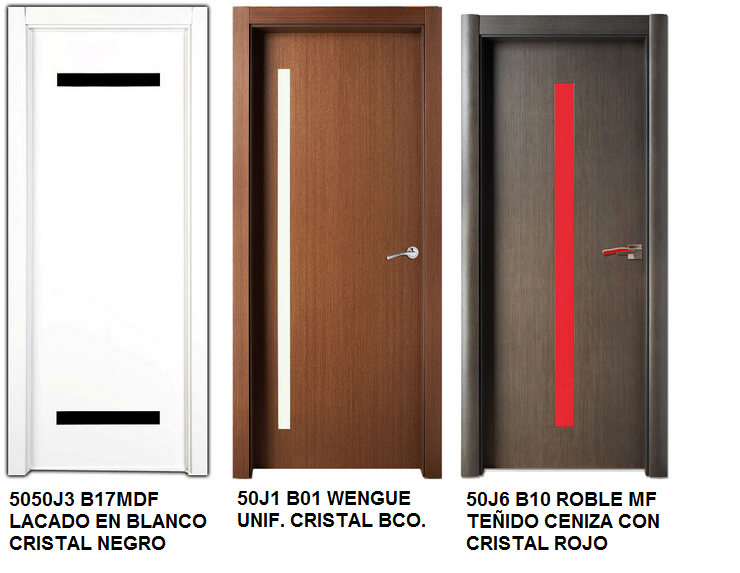 Made of wood puertas de interior serie iris y serie lisa for Puertas de entrada minimalistas