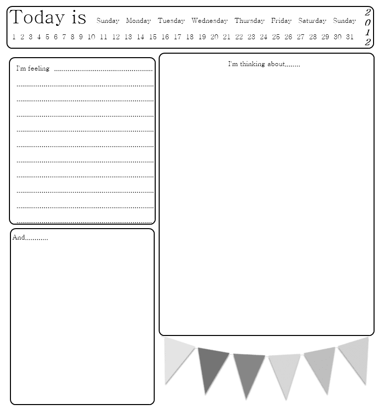 Journaling Templates | Free Printable Journal Pages Templates