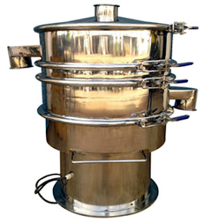 Vibro Sifter for mixing material