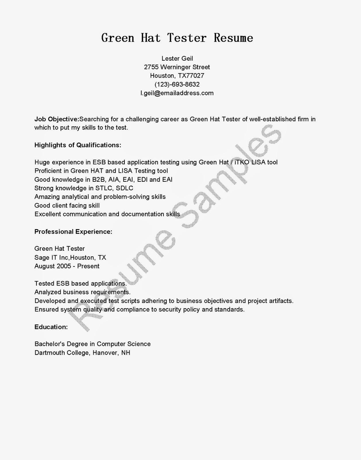 Edi testing sample resume