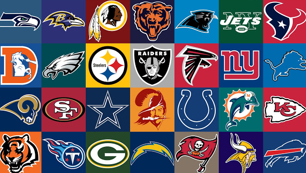 the nfl report top 10 nfl logos