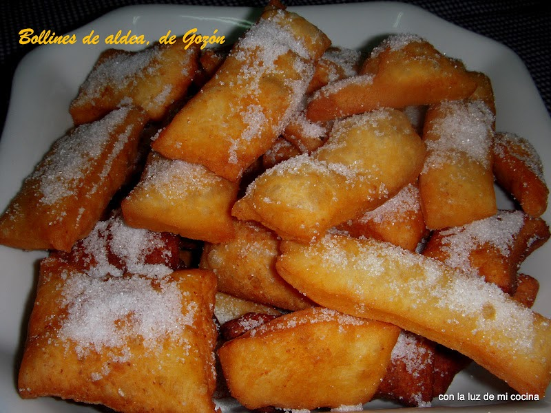 Con la luz de mi cocina bollines de aldea de goz n - Cursos cocina asturias ...