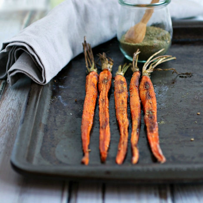 Roasted Carrots with Za'atar