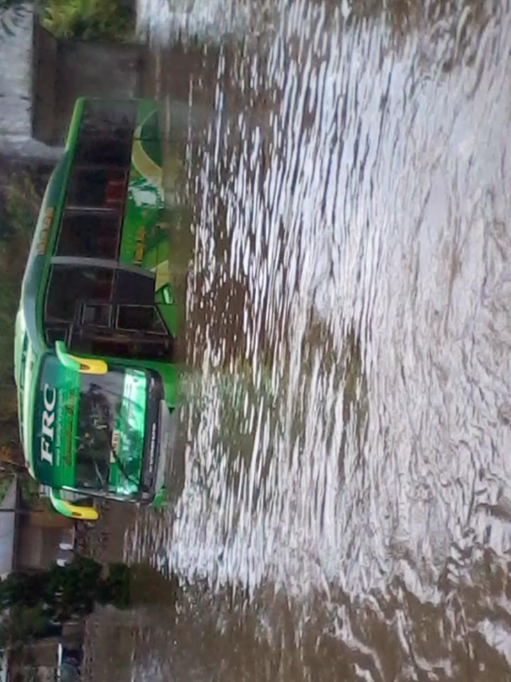 Kumpulan foto banjir di padang panjang 24 januari 2014
