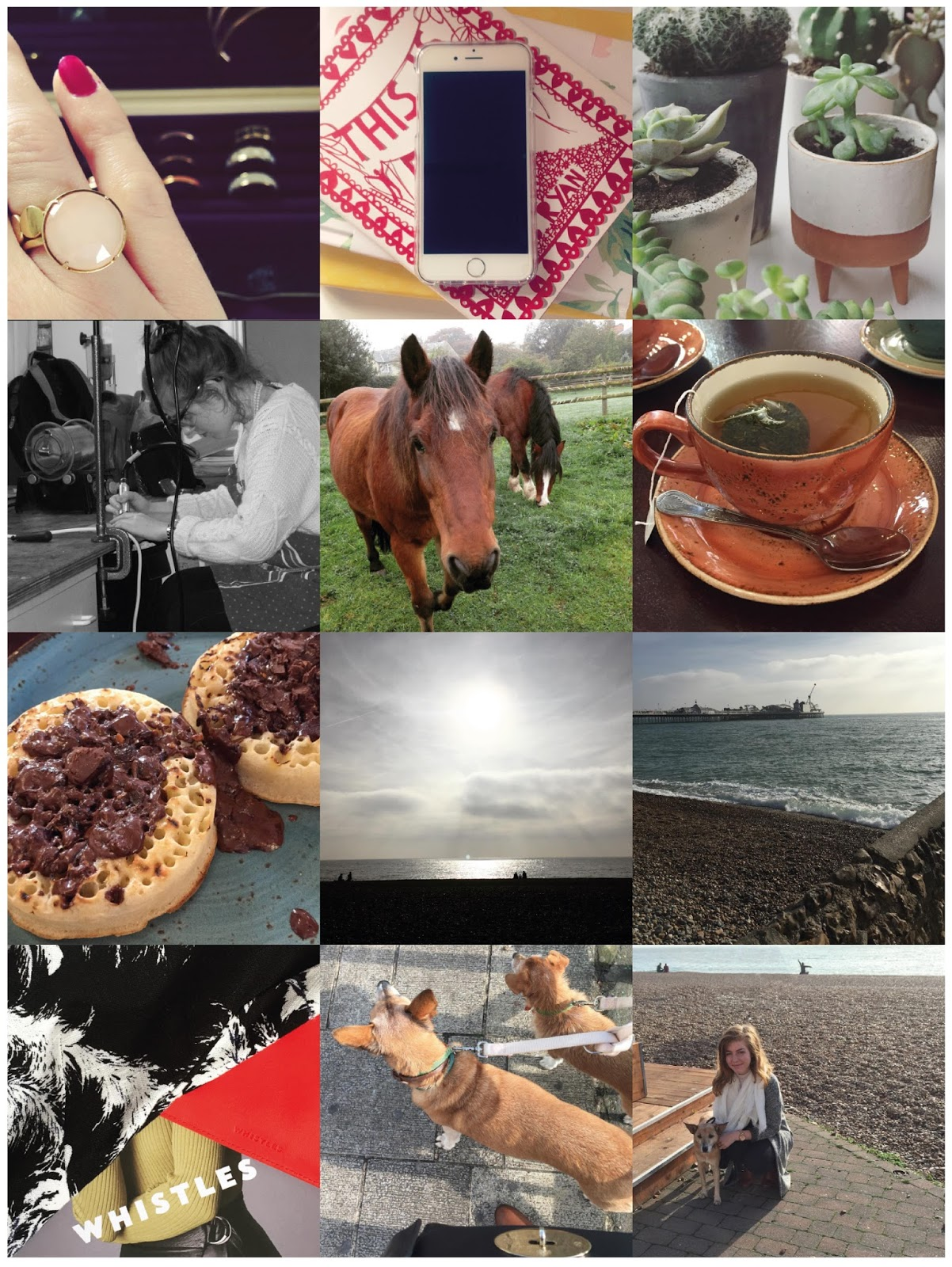 Jewellery, iPhone, Silver, Pony, Horse, Brighton, Reigate, Tea, Food, Update, Shopping, Whistles, Beach, Sea,