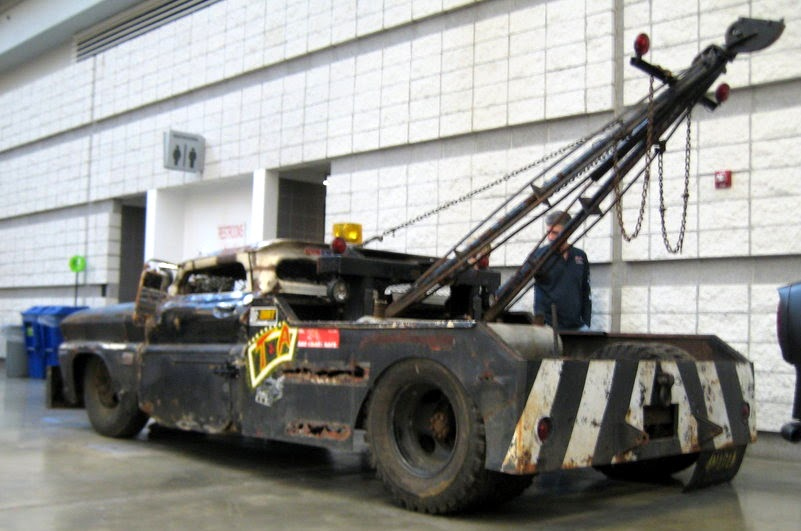 Classic Cars Authority Rat Rod Tow Truck Full Size