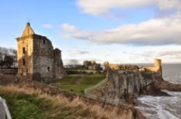 St Andrews Castle Fife Scotland