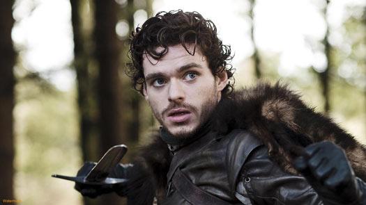 Robb Stark - O novo Rei do Norte em Game of Thrones