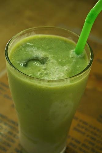 Bogyoke Aung San Market's avocado shakes