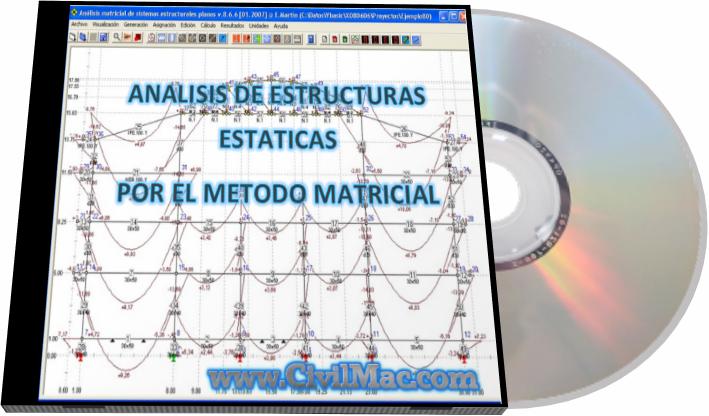 CivilMac , Analisis de Estructuras , Matricial