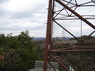 交野市・星田の山・鉄塔