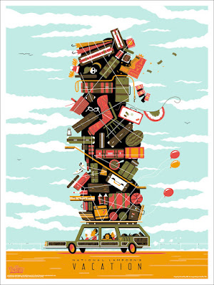 National Lampoon's Vacation Screen Print by Andrew Kolb x Mondo