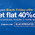 Black Friday 2015: Agriya cites a flat 40% Off on all its clone scripts, modules and apps