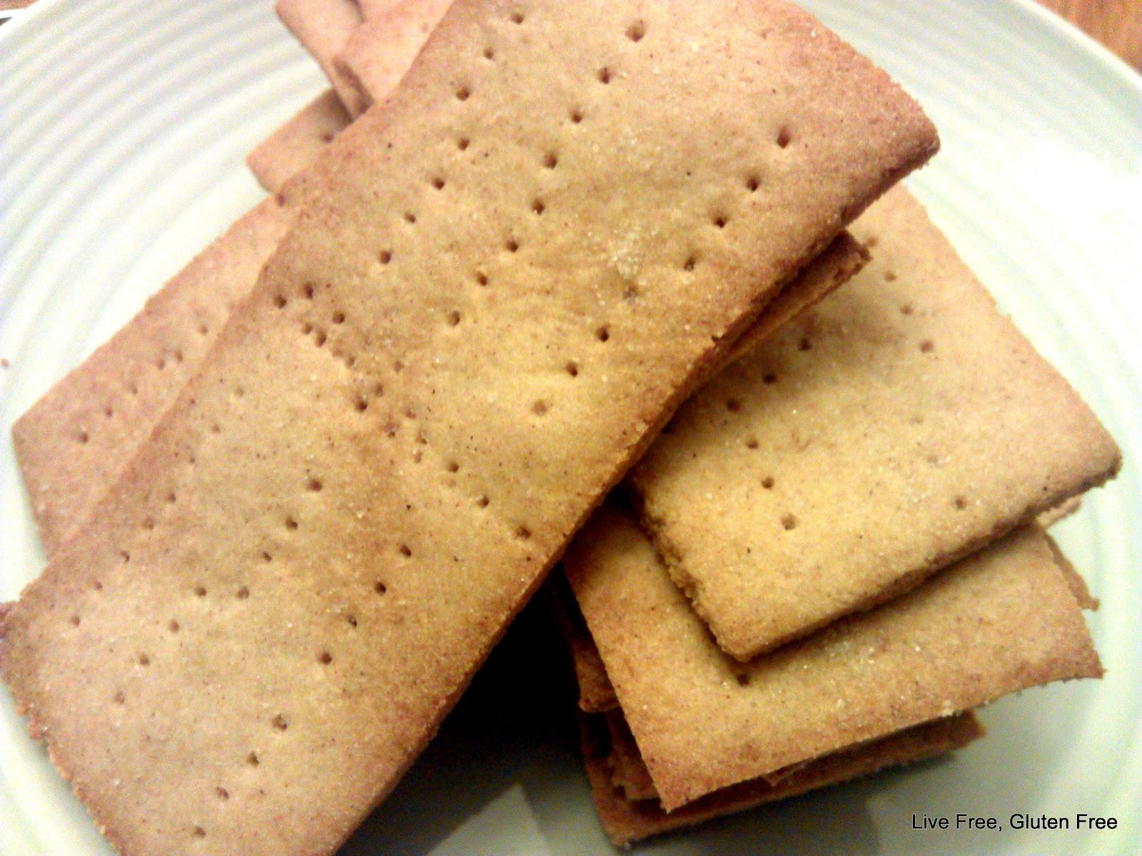 Live Free, Gluten Free: Graham Crackers