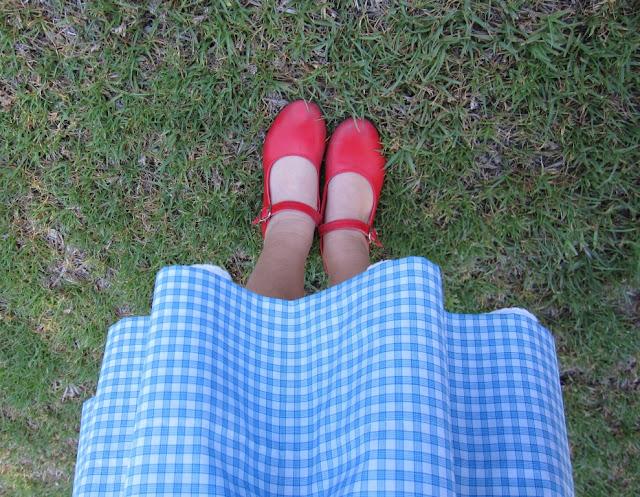 Zapatos rojos de Dorothy