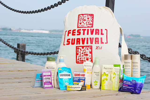 Everything you need to survive summer festival season - Giveaway with Johnson & Johnson Inc.