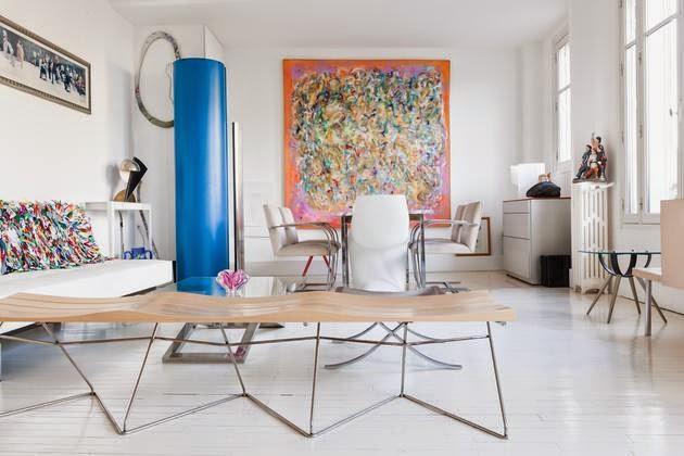 apartamento en el barrio latino de París