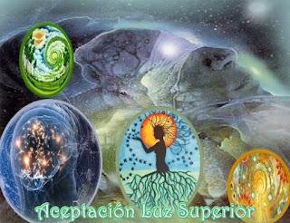 Al aceptar la Luz Superior que entra en sus Conciencias, Auras, cuerpos y células, limpian y sanan cualquier oscuridad restante.