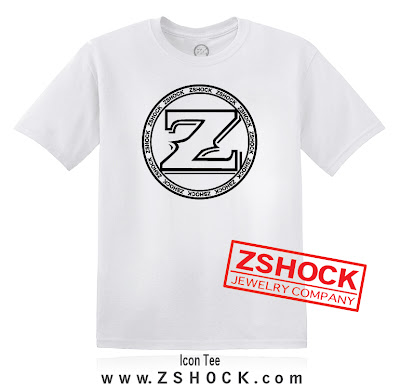 ZShock icon logo t-shirts