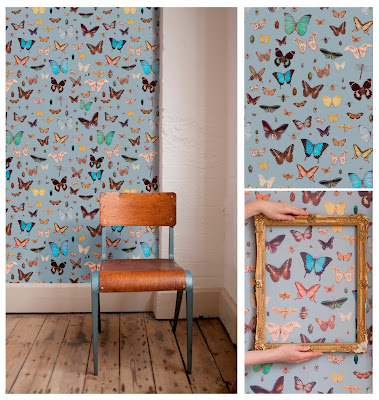 Bugs and Butterflies wallpaper by Ella Doran featured by World Architecture News