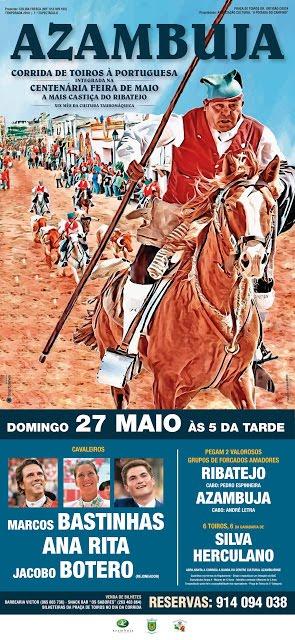 AZAMBUJA (PORTUGAL) 27-05-2018. CORRIDA A PORTUGUESA.