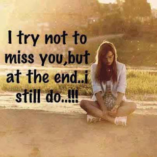 Miss you status for whatsapp Bbm i try not