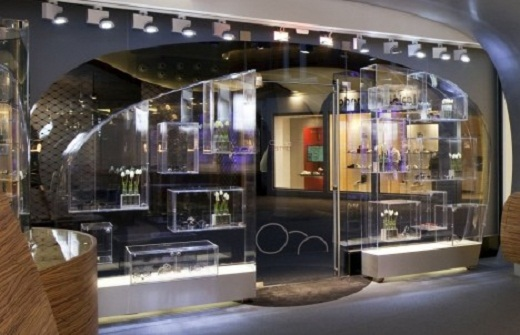 Modern Fashion Store Design of Hofstede Optiek interior
