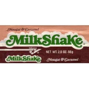 Milkshake candy bar