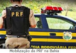 Polícia Rodoviária Federal da Bahia inicia mobilização em todo estado, serviços parcialmente parali