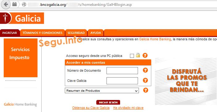 Www E Galicia Com Ar Home Banking