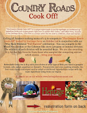 Heritage Farm Cook Off Flyer