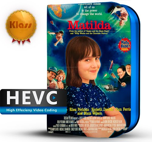 Matilda (1996) 1080p BDRip HEVC-10Bits Dual Audio Latino-Inglés [Subt.Esp] ( Familiar. Comedia )