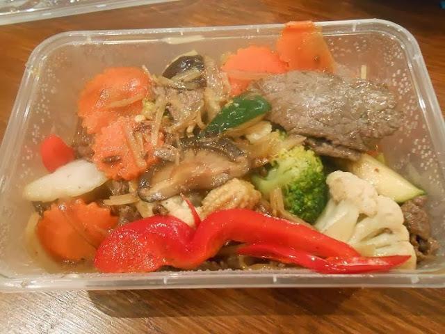 Riversdale Thai, Camberwell, beef, vegetable, stir fry