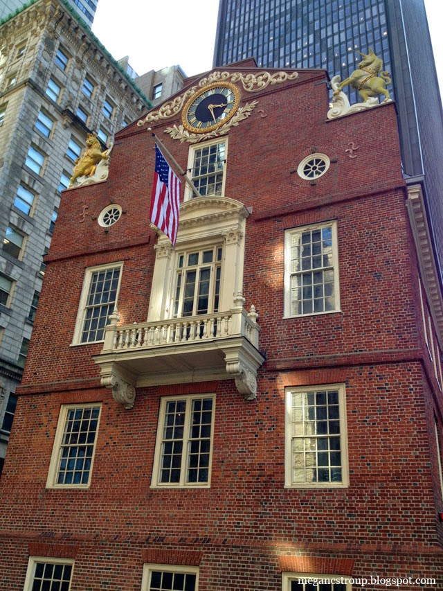 Old State House - Boston, Massachusetts, on Semi-Charmed Kind of Life