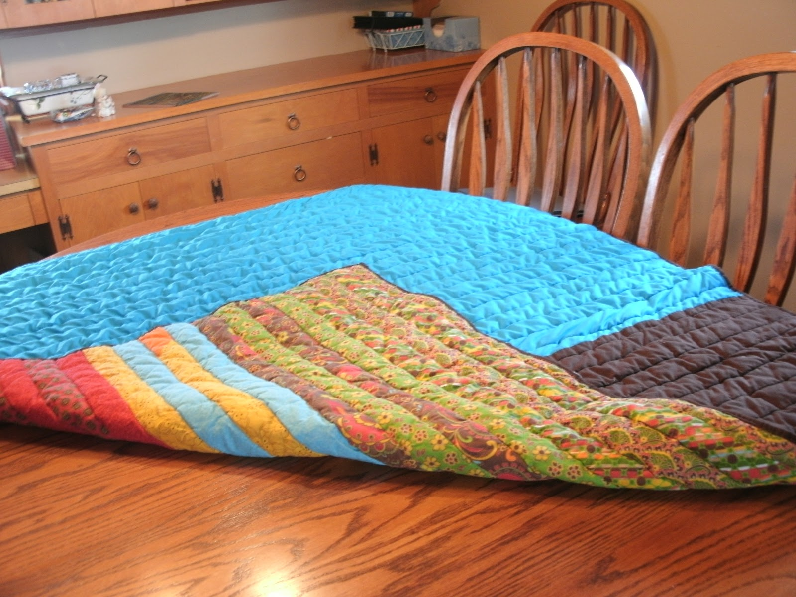 The Domestic Groove: Jelly Roll Race Quilt
