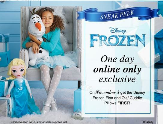 Disney's Frozen Products at Avon on 11/3