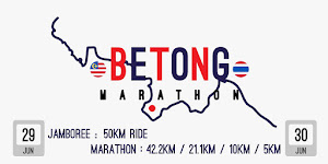 Betong Marathon 2019 - 29 June 2019