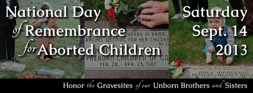 Rose and Her Lily: National Day of Remembrance for Aborted ...