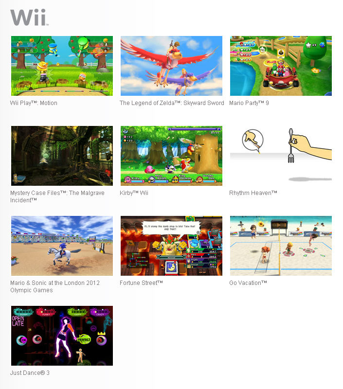 Go Vacation Wii U: Para O Wii