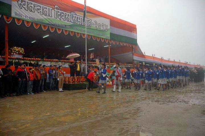 Independence Day celebration in darjeeling lebong