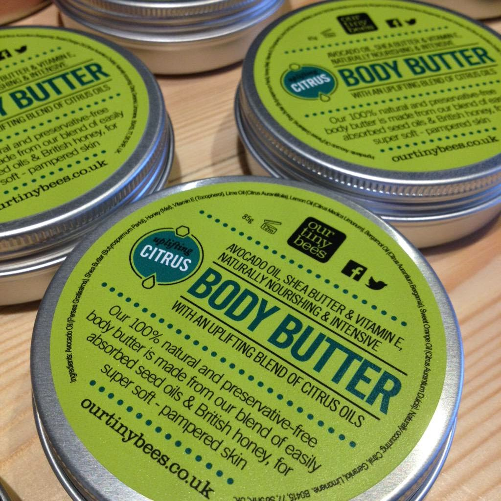 Our Tiny Bees Body Butter