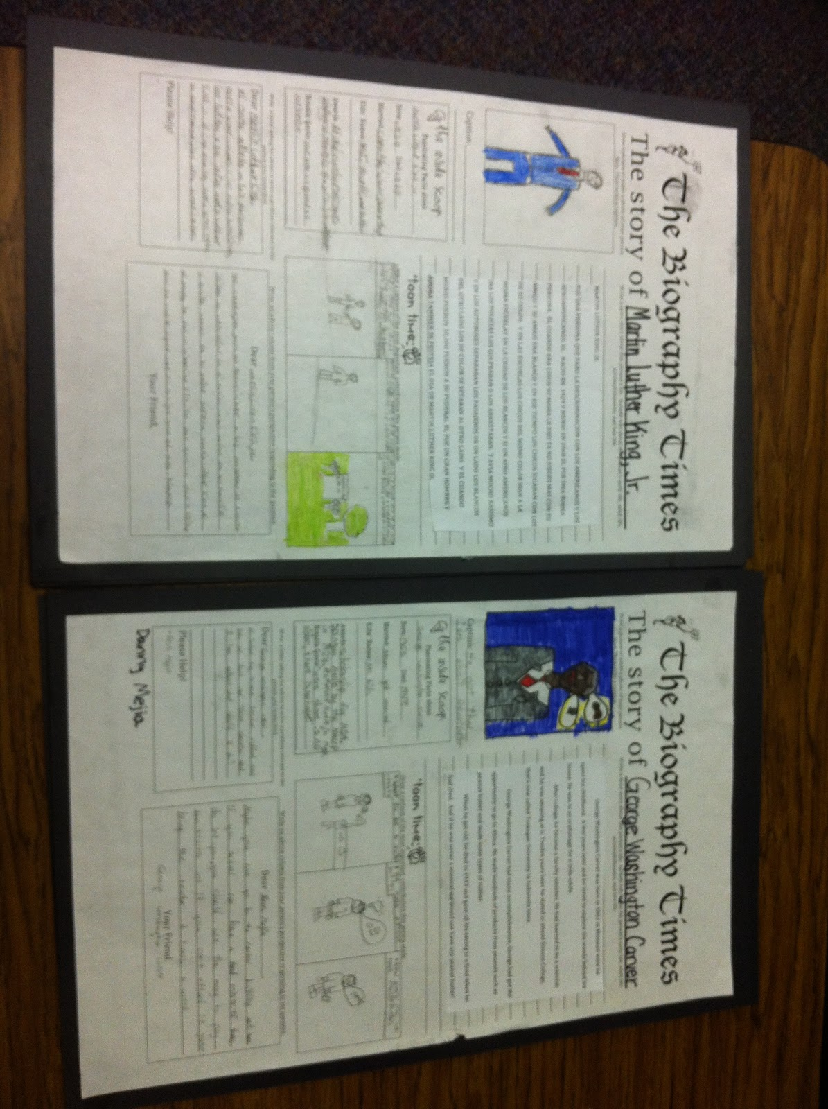 Classroom Newspaper Ideas : Stuff students say and other classroom treasures