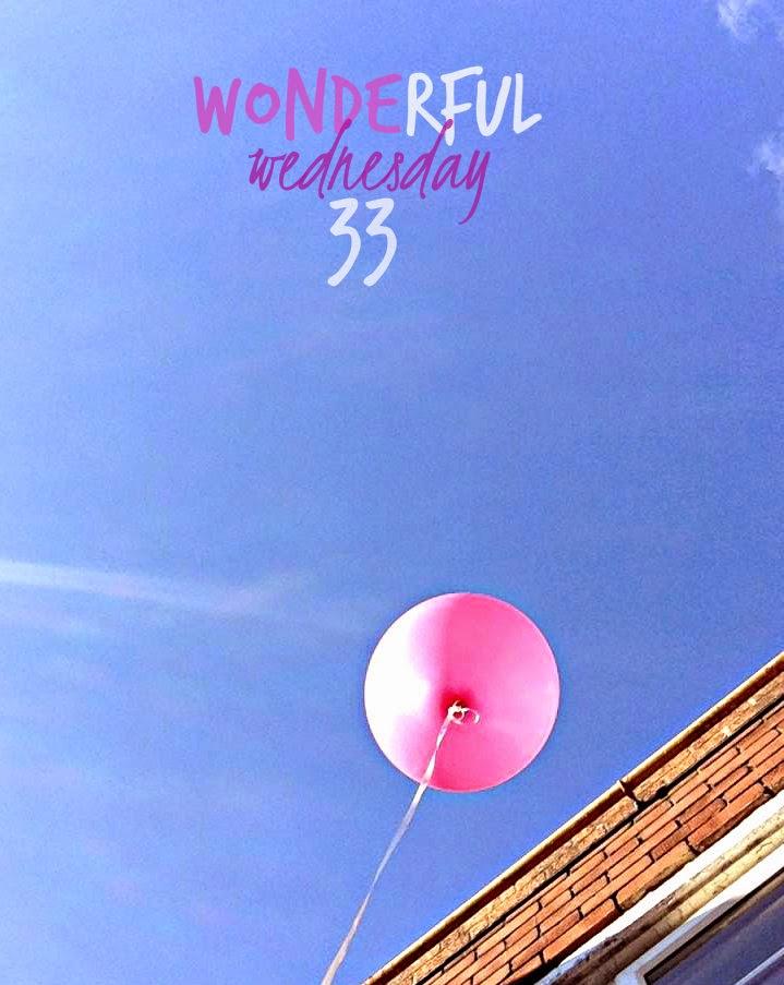 Wonderful Wednesday #33
