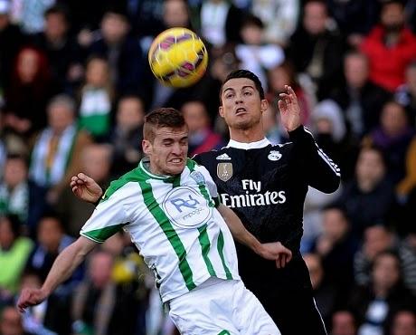 Liga Spanyol : Cordoba 1-2 Real Madrid