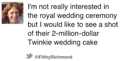 twinkiecake - Royal Wedding Tweets