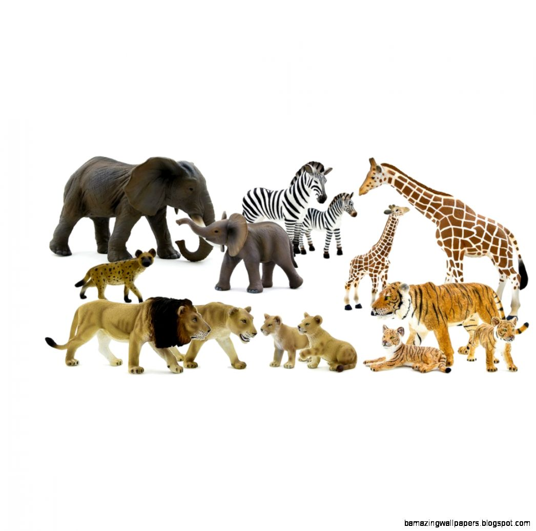 Safari Animals 14pc 23387MJ4   698 RMB  Obido Educational