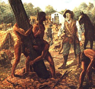 principal objetivo dos bandeirantes era aprisionar indígenas para ...